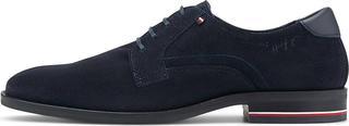TOMMY HILFIGER - Derby-Schnürer Signature in blau, Business-Schuhe für Herren