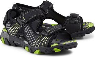 Superfit - Klett-Sandale Henry in schwarz, Sandalen für Jungen