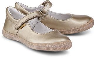 Primigi - Glitzer-Ballerina in gold, Halbschuhe für Mädchen