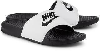 Nike - Benassi Just Do It in weiß, Sandalen für Herren
