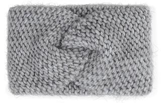 belmondo - Strick-Stirnband in hellgrau, Mützen & Handschuhe für Damen