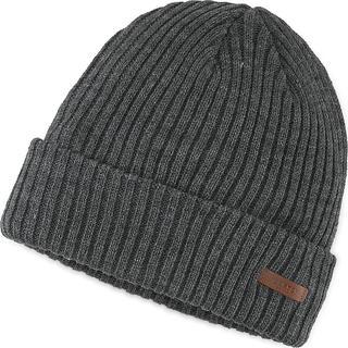 Barts - Mütze Wilbert Turnup in dunkelgrau, Mützen & Handschuhe für Herren