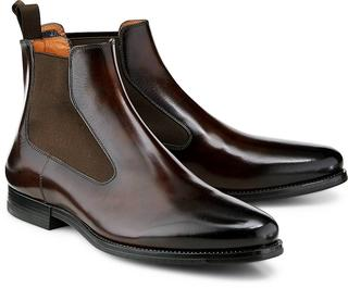 Santoni - Chelsea-Boots in dunkelbraun, Boots für Herren