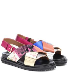 Marni - Sandalen aus Leder