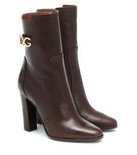 Dolce & Gabbana - Ankle Boots aus Leder