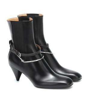 Jil Sander - Ankle Boots aus Leder