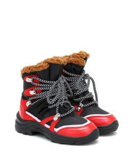 Stella McCartney Kids - Ankle Boots mit Lederimitat