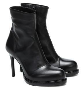 Ann Demeulemeester - Ankle Boots aus Leder