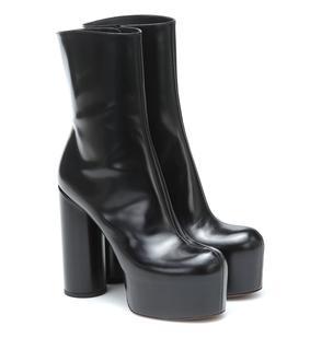 Vetements - Ankle Boots aus Leder