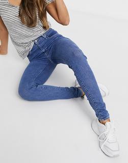 Levis - Levi's – Mile High – Superenge Jeans in Blau