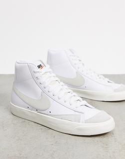 Nike - Blazer – 77 – Sneaker in Weiß und Beige