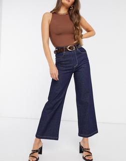 Just Female - Winnie – Jeans mit hoher Taille und weitem Bein in Blau