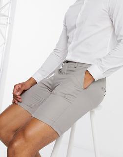 Jack & Jones - Premium – Shorts in Taupe-Beige