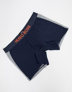 Boss - Pikee-Boxershorts-Navy