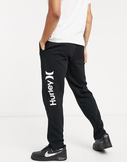 hurley - OAO – Schwarze Fleece-Jogginghose