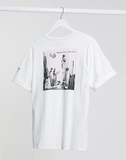 Volcom - Schnips – T-Shirt in Weiß