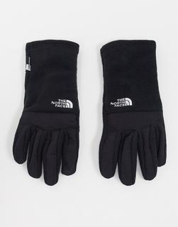 THE NORTH FACE - Denali Etip – Schwarze Handschuhe