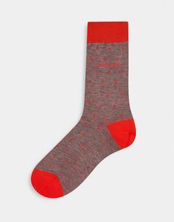 Boss - George – Socken mit Punktmuster-Orange