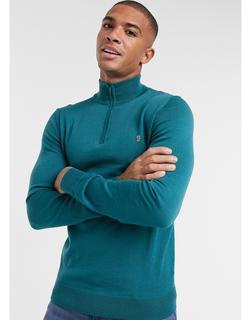Farah - Ricky – Langärmliges Polohemd in Marine-Navy