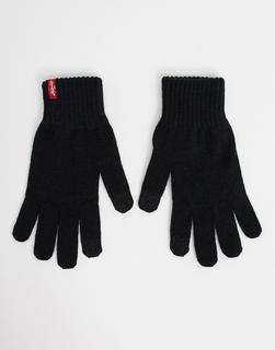 Levis - Levi's – Schwarze Touch-Screen-Handschuhe