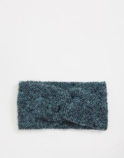 Pieces - Haarband in North Atlantic-Grün
