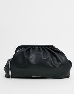 STEVE MADDEN - Bjessica – Groß Clutch-Tasche in Schwarz