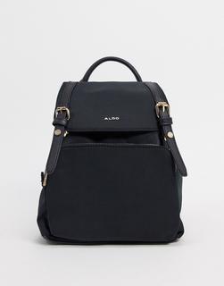 ALDO - Rella – Schwarzer Backpack mit goldfarbenen Details
