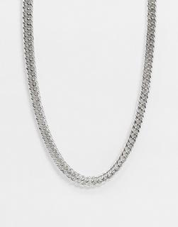 Icon Brand - Halskette in Altsilberton mit Kordelverschluss