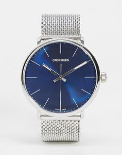 Calvin Klein - Uhr mit schwarzem Ziffernblatt