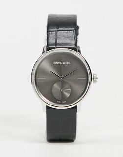 Calvin Klein - Schwarze Armbanduhr