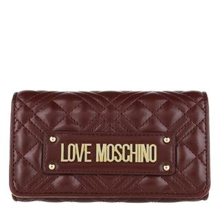 Love Moschino - Portemonnaie - Wallet Vino - in rot - für Damen