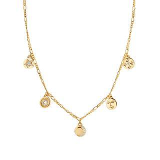 Sif Jakobs Jewellery - Halskette - Portofino Necklace Yellow Gold - in gelbgold - für Damen