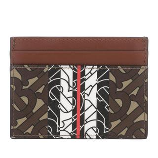 Burberry - Portemonnaie - Logo Card Holder Bridle Brown - in braun - für Damen