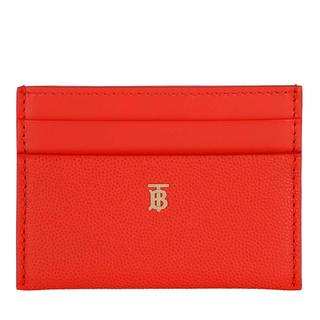 Burberry - Portemonnaie - Monogram Motiv Card Case Leather Bright Red - in rot - für Damen