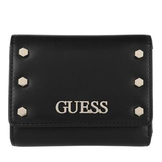 guess - Portemonnaie - Tia Small Trifold Wallet Black - in schwarz - für Damen
