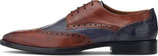 Melvin & Hamilton - Business-Schnürer Martin 15 in mittelbraun, Business-Schuhe für Herren
