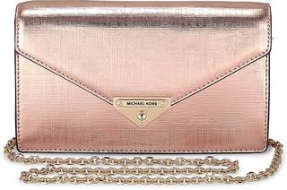 MICHAEL KORS - Envelope-Clutch Grace Medium in roségold, Clutches & Abendtaschen für Damen - 195.00 €