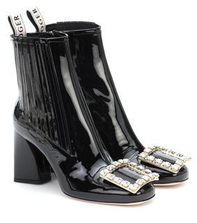 Roger Vivier - Ankle Boots Très Vivier Strass