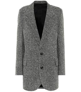 AMI - Blazer Donegal aus Tweed