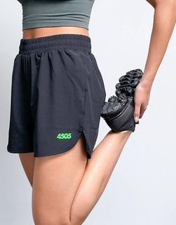 ASOS 4505 - ASOS – 4505 – Gewebte Shorts mit Symbol-Schwarz