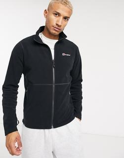 Berghaus - Prism– Schwarze Fleece-Jacke mit Reißverschluss