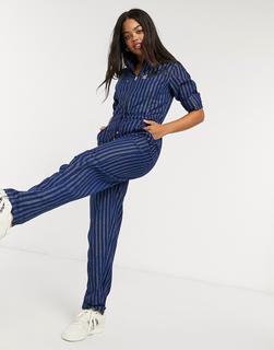 Lee Jeans - Lee – Jeans-Jumpsuit in verwaschenem Blau