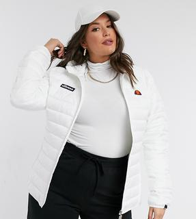 Ellesse - Plus – Steppjacke in Weiß