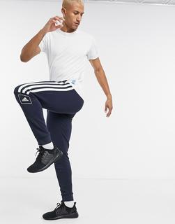 adidas Performance - adidas Training – Jogginghose mit drei Streifen in Schwarz