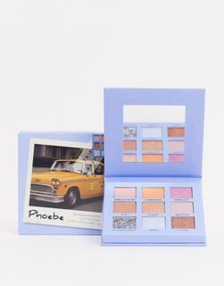 Revolution - X Friends Phoebe – Lidschatten-Palette-Mehrfarbig