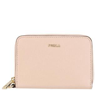 Furla - Portemonnaie - Babylon Small Zip Around Wallet Ballerina - in rosa - für Damen