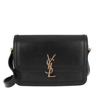 Saint Laurent - Umhängetasche - Medium Messenger Lock Bag Ultracalf Soft Nero - in schwarz - für Damen