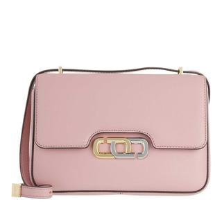 Marc Jacobs - Umhängetasche - The J Link Crossbody Bag Leather Pink Rose - in rosa - für Damen