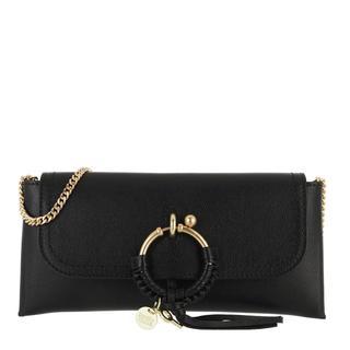 See by Chloé - Umhängetasche - Crossbody Cowhide Leather Suede Black - in schwarz - für Damen