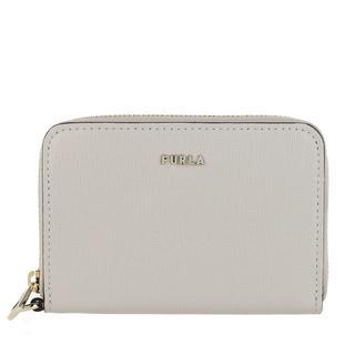 Furla - Portemonnaie - Babylon Small Zip Around Wallet Ghiaccio - in grau - für Damen